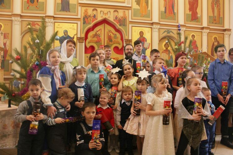 Рождественский праздничный концерт в нашем храме