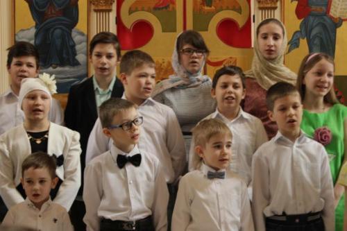 Праздничный концерт посвященный Светлой Пасхе