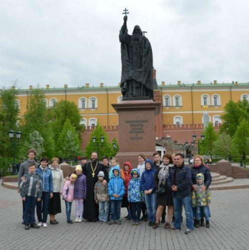 Экскурсия детской воскресной школы 21 мая 2017 год