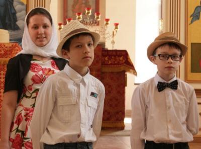 детская воскресная школа, праздничный концерт 2019