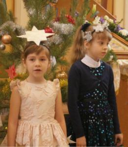 Праздничный концерт детской воскресной школы